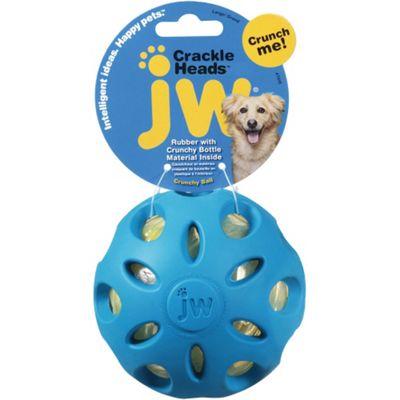JW Crinkle Heads Crunchy Ball - Large