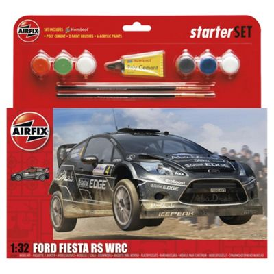 Airfix Ford Fiesta RS WRC 1:32 Scale Starter Set