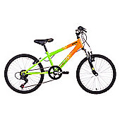 "Extreme by Raleigh Viper Boys Bike 20"" Green and Orange"