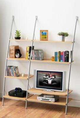 Premier Housewares TV Stand - Beech