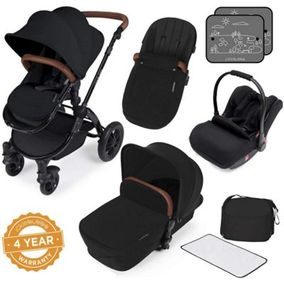 ickle bubba Stomp V3 Black All-In-One Travel System (Black)