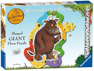 Ravensburger The Gruffalo, 24Pc Giant Shaped Jigsaw Puzzle