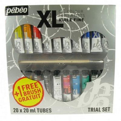 Pebeo Xl Sets - 20 X 20ml Tubes