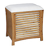 Kendal Single Storage Seater With Cushion - Bamboo