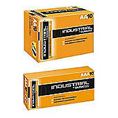 Duracell 10 x AAA and 10 x AA Industrial Batteries