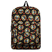 Guns N' Roses RockSax Allover Logo Black Backpack 32x42x11cm