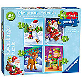 Christmas - My First Puzzles - 4 in 1