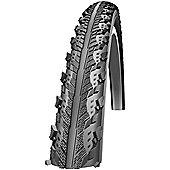 Schwalbe Hurricane Dual Compound Rigid Tyre in Black 700 x 40mm - 700 x 40mm Reflective