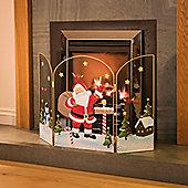 Christow 49cm Father Christmas Fireguard