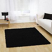 Nordic Cariboo Black 80x150cm Shaggy Rug