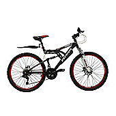 "Boss Dominator 26"" Full Suspension Alloy Mountain Bike"