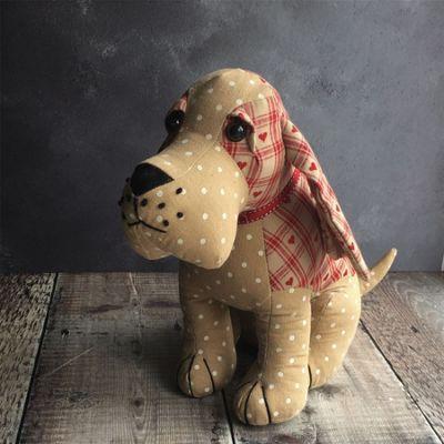 Festive Dog Door Stop