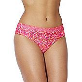 Curvy Kate Daze Fold-Over Bikini Briefs - Pink