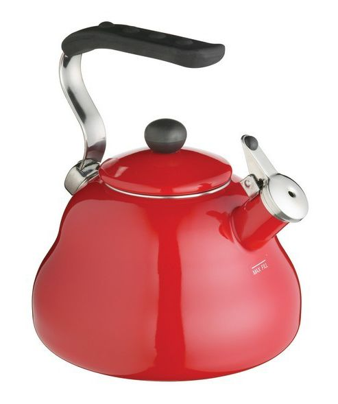 LeXpress Chilli Red Whistling Kettle