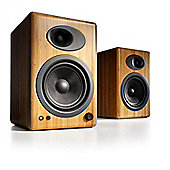 Audioengine A5+ Powered Speakers (Pair) Satin Bamboo