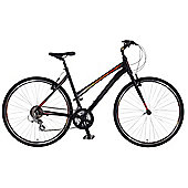 "Claud Butler Urban 300 18"" Hybrid Bike 700c Alloy Step Through Frame"