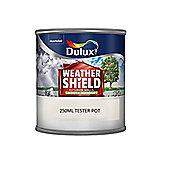 Dulux Weathershield Smooth Masonry - 250ml - County Cream