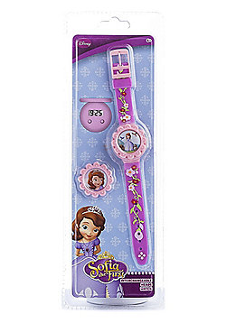 Disney Sofia The First 'Interchangeable Heads' Wrist Watch