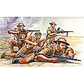 Italeri British 8Th Army Wwii 6077 1:72 Figures Kit