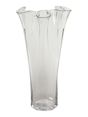 Buy Linea Clear 60cm Handkerchief Vase From Our Vases Bowls Range