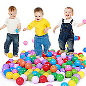 100 Plastic Play Balls for Ball Pits