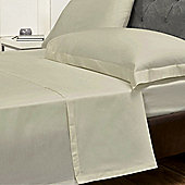 Julian Charles Luxury 180 Thread Count Flat Sheet - Natural