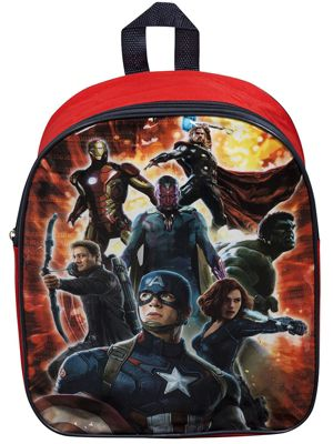 Avengers Age of Ultron Red Backpack
