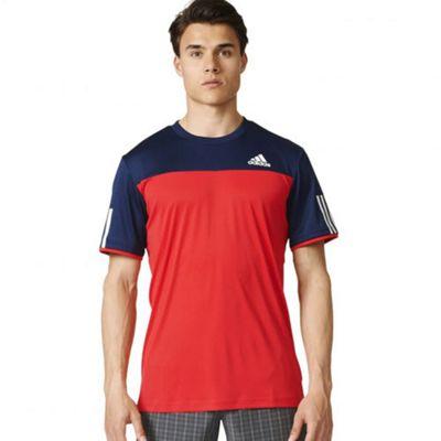 adidas Mens Short Sleeved Club Training Top / T-shirt - M