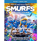 Smurfs: The Lost Village Blu-ray