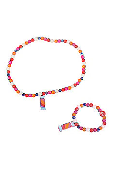 Tatiri Cupcake Bracelet and Necklace (Striped Sweet)