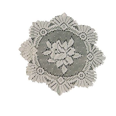 Monica Lace Rose Doily - 8