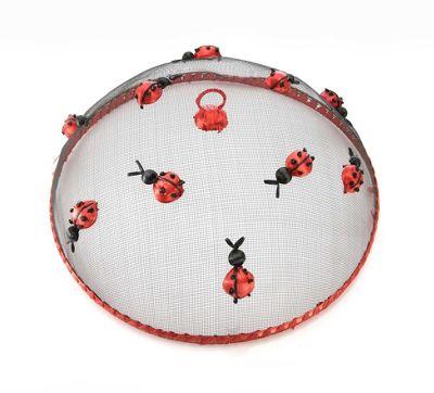 Eddingtons 35cm Dome Food Cover, Ladybirds