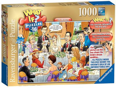 WHAT IF - No 16 - The Wedding - 1000pc Puzzle