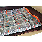 OLPRO Hush Pattern Double 300gsm fill Sleeping Bag