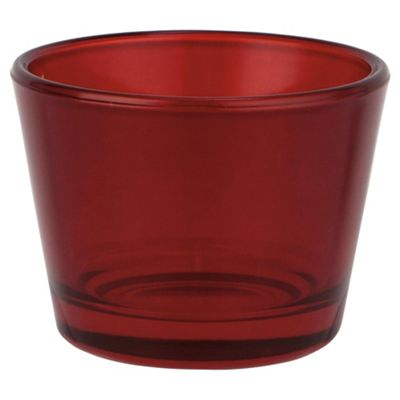 Basic Tea Light Holder Red 4Pk