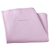 Clair de Lune Pram Blanket (Cotton Candy Pink)