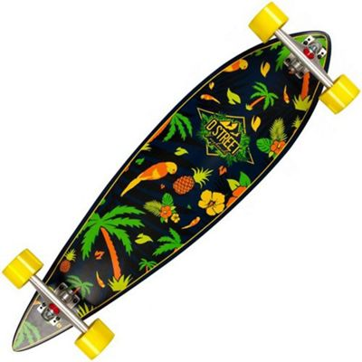 D-Street Pintail Tropical 38 Complete Longboard