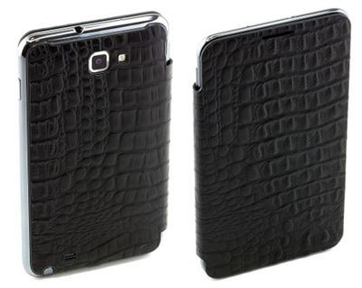 Samsung Elite Leather Flip Case for Galaxy Note - Lizard Effect