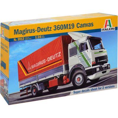 ITALERI 3912 Magirus Deutz 360M19 Canvas 1:24 Truck Model Kit