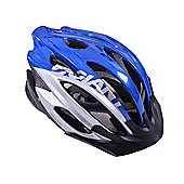 Giant Ares Team Bike Helmet 51-54cm Blue/Silver