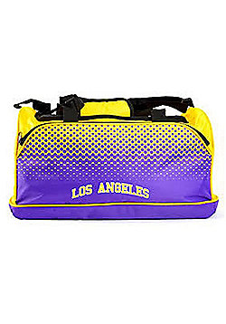 Los Angeles Lakers NBA Basketball Fade Holdall Bag Forever Collectibles
