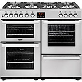 Belling 444444081 Cookcentre 100DFT - Stainless Steel