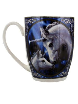 Lisa Parker The Sacred Love Blue 10oz Bone China Mug 12x10x8.5cm