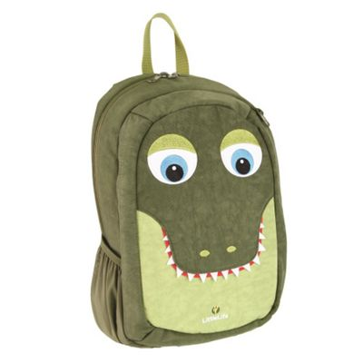 LittleLife Kids SchoolPak Crocodile