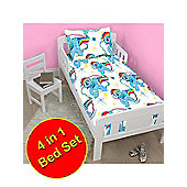 My Little Pony Dash 4 in 1 Junior Bedding Bundle Set