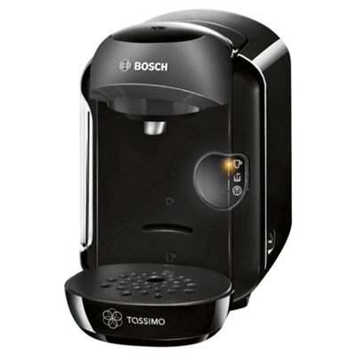 Bosch Tassimo Vivy Coffee Machine, TAS1252GB - Black