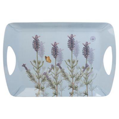 Kew Lavender Large Luxury Handled Tray
