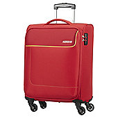 American Tourister Funshine 4-Wheel Red Cabin Case