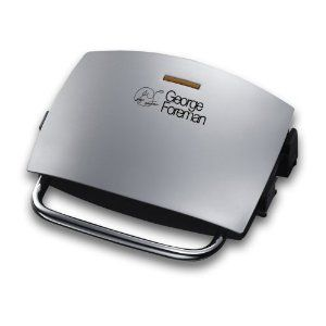 George Foreman 4 Portion Grill & Melt, 14181 - Silver
