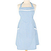 Dexam Vintage Collection Spotted Apron, Blue